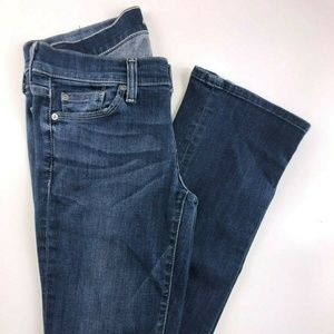 7 for all mankind Straight Leg Jeans AL02